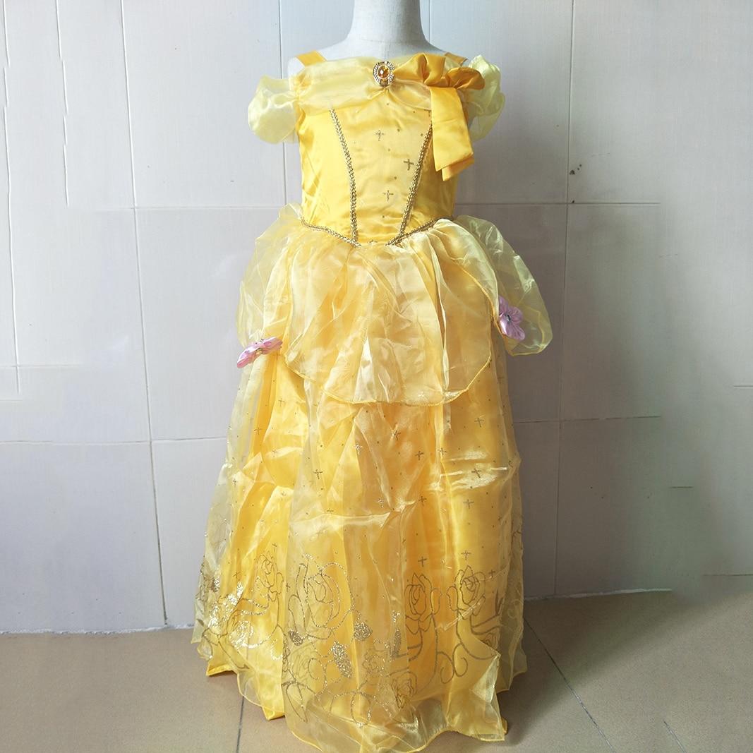 Mode 2 9 Jahre Kinder Partei Kleidung für Junior Mädchen Blau Gelb ...