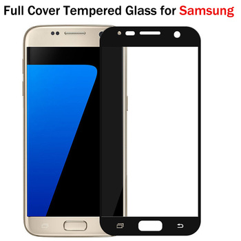 Full Cover Colorful for Samsung Galaxy note 3 J510 J730 S7 S6 S5 J5 J7 Prime Note 5 4 J530 Screen Protector Film image