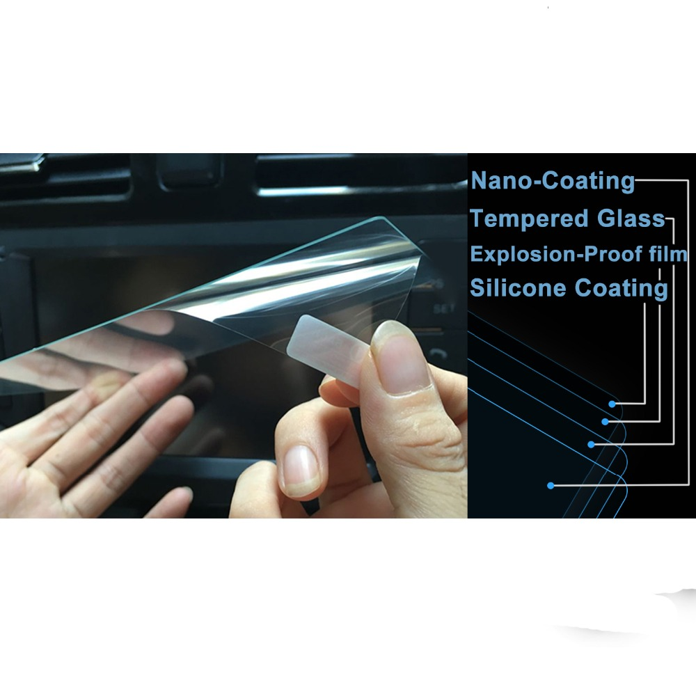 Image 5 - RUIYA  screen protector for seat Arona Seat Media System Plus 8inch navigation touch display,9H tempered glass protective film-in Screen Protectors from Consumer Electronics