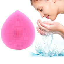 Face Facial Brush Skin Care Massage Deep Cleaning Soft Silicone Exfoliating Cleansing