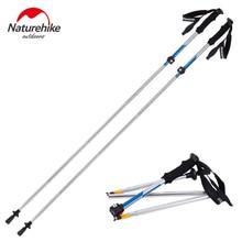 Naturehike Ultralight Adjustable Canes Anti-Shock 5-section Trekking Hiking Walking Stick Outdoor Camping Equipment Pole VK063