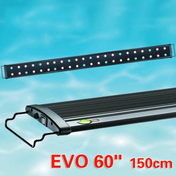 "Odyssea Metal Halide Lights: 150CM Odyssea Green Element EVO 60"" LED Aquarium Light"