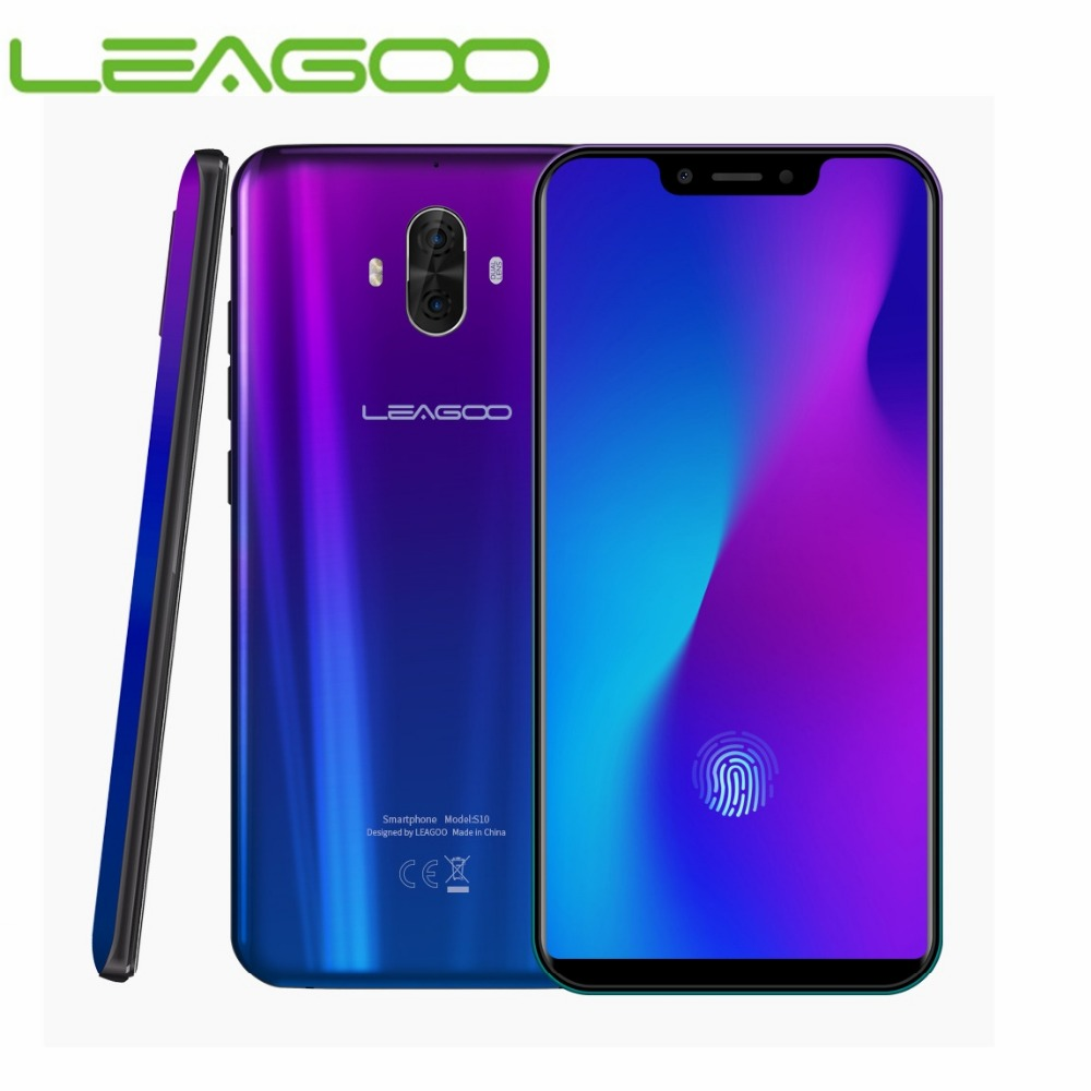 Versão global leagoo s10 4g smartphone 6 gb ram 128 gb rom 6.21