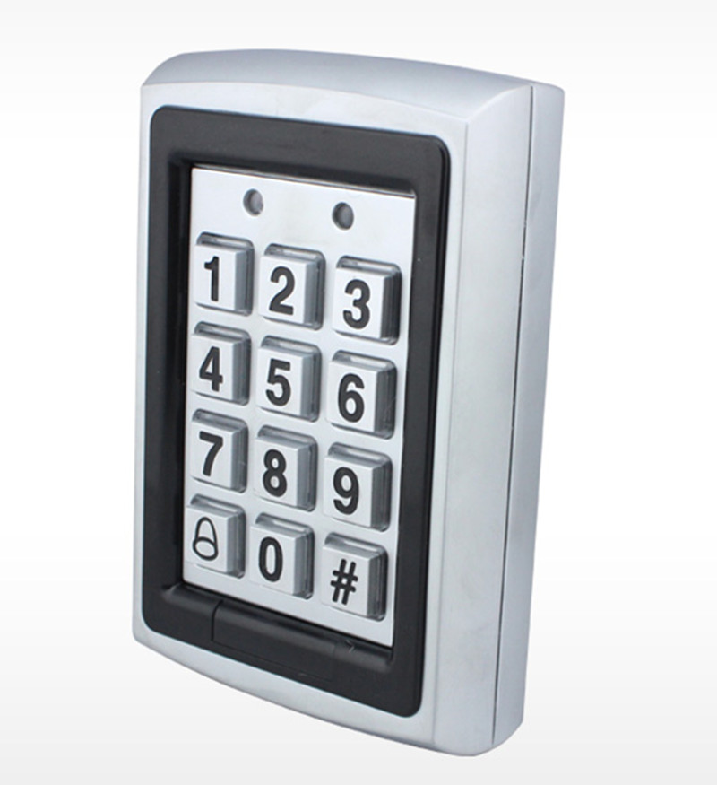 1000 User Metal ID Card & Password Single Door Access Control