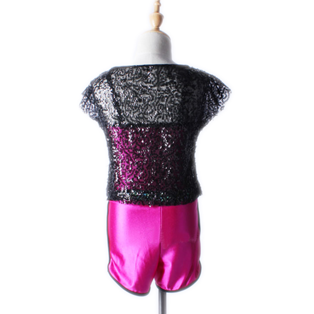 Girls Jazz Dance Costumes Stage Performance Wear Dance Jazz Dance Wear Kids Two-piece outfit Clothes