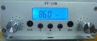 1,5 Вт/15 Вт двойной режим 87 мГц-108 мГц fm-передатчик ST-15BV2 стерео PLL fm-радио трансляция станция