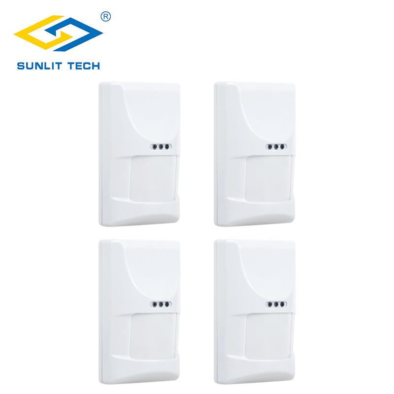 4pcs/Lot Indoor Wired Pet PIR Sensor Infrared Motion Detector sensor alarma for Home Security movement detector alarm System 2pcs lot wired indoor usage pet friend passive infrared motion sensor for wired burglar alarm system free shipping