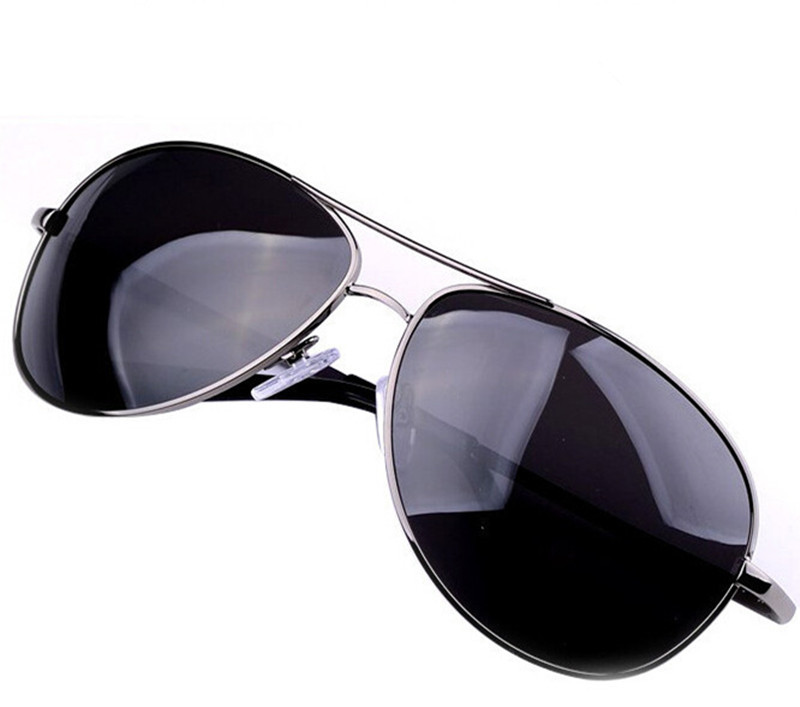 Brand Sunglasses Oculos Masculino Gunmetal Sunglasses Polarized Classic Metal Eyewear Sun Glasses for Men Freeshipping Wholesale