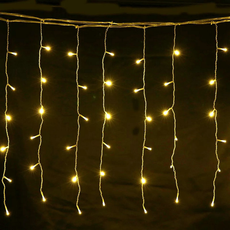 Curtain Icicle String Lamp Led