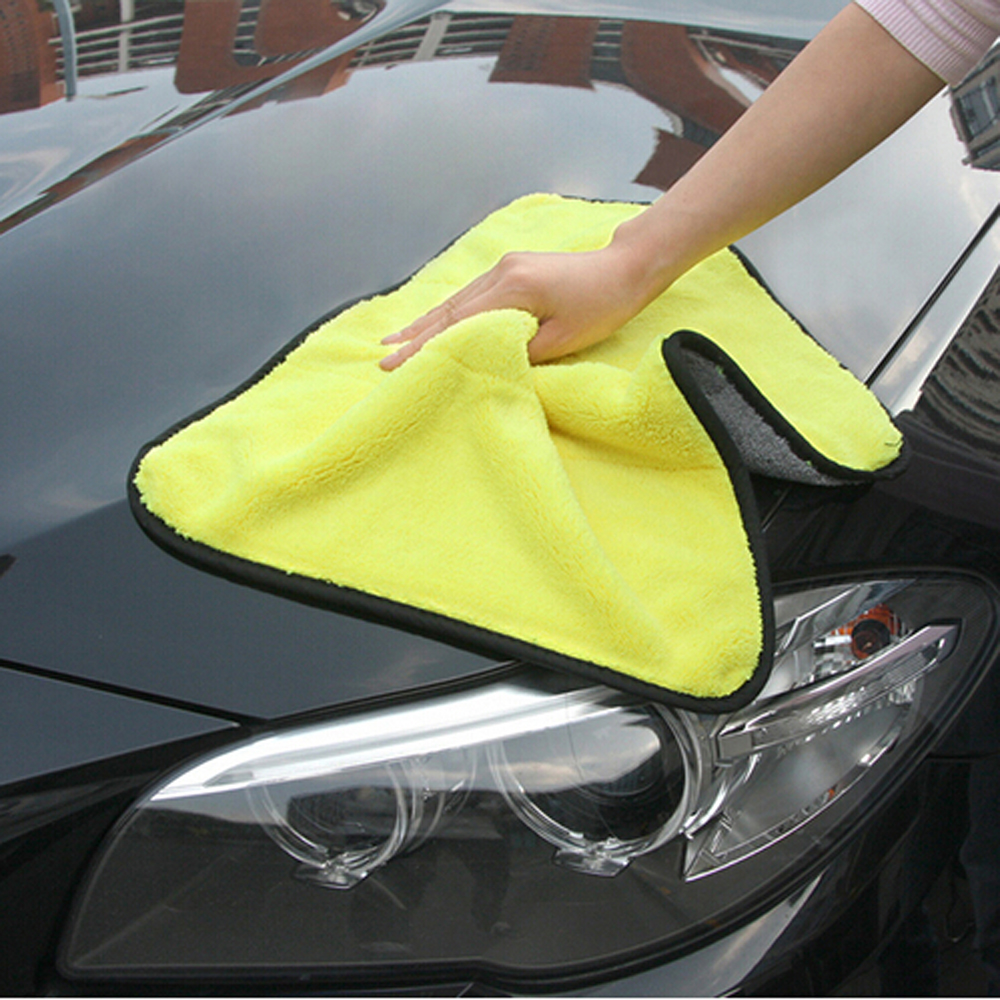 Cheap Sale Car Wash Gloves Cleaning Sponge Cloth For Bmw E90 F30 F10 Audi A3 A6 C5 C6 Opel Insignia Alfa Romeo Ssangyong Accessories Car Tax Disc Holders