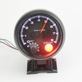 3.75 inch Gasoline car 4.6.8 Cylinder Black shell White Led balcklight Tachometer 8000 RPM  auto gauge Free shipping