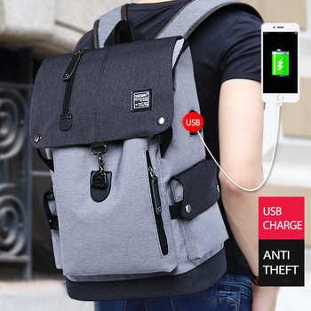 Fashion Men Backpack Shoulder Bag Male Fashion Best Travel Backpacks Everyday Bagpack Laptop Bags For Teenager Boy Mochila 2019