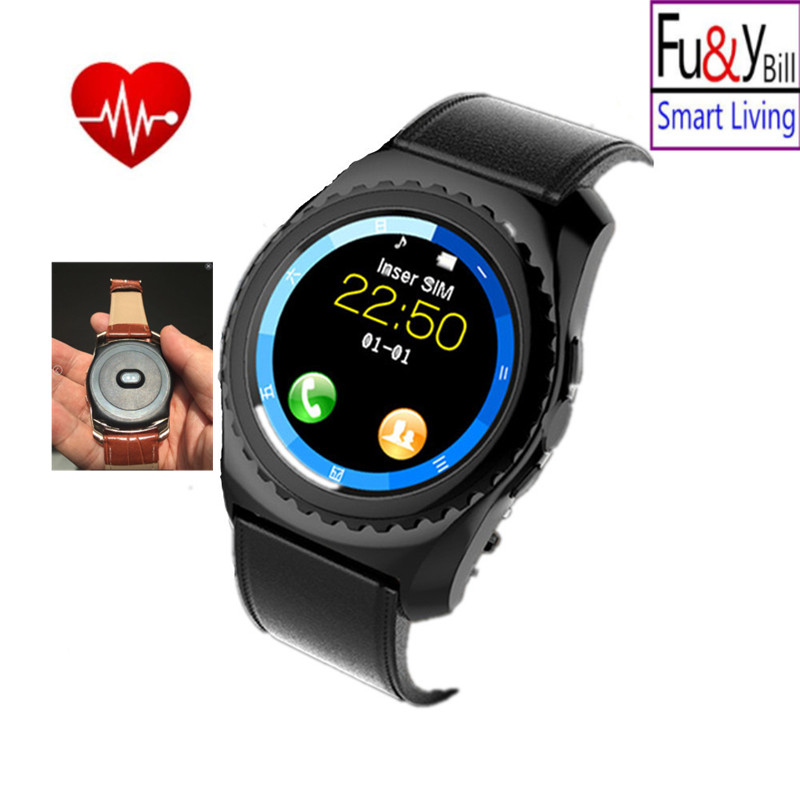 Bluetooth Smart Watch Fitness Tracker, Heart Rate Monitoring,  Sleep Monitor with Camera  GSM  /  TF Card for Android Pk Y1 f2 smart watch accurate heart rate