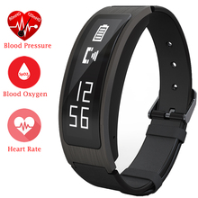 Original ZB63 Smart Bracelet Talk Band TalkBand Heart Rate Blood Pressure Oxygen Pedometer Bluetooth Smartband Watch PK Huawei
