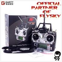 Бесплатная доставка FlySky FS-T6 FS T6 2,4G цифровой 6 Каналы передатчик и приемник на пульте радиоуправления режим 2