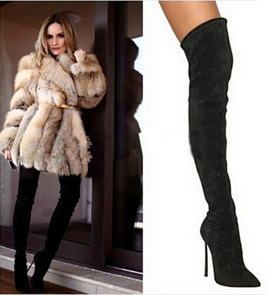 thigh high boots black page 21 - steve-madden
