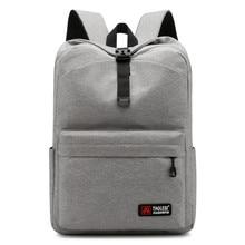 New School Fashion Men Backpack Bag Water Proof men External USB Charge Rucksack Travel mochilassırt çantası
