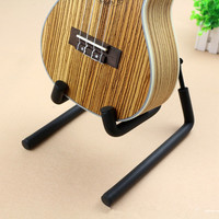 Universal Folding Guitar Stand For Acoustic Guitar Electric Guitar Bass Black With Foam Protection Ukulele New