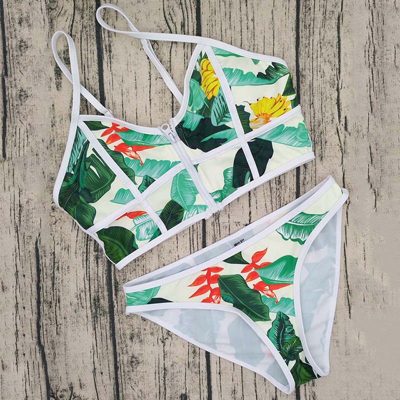 Topmelon 17 New Sexy Bikinis Micro Swimwear Floral Print Colorful Push Up Beachwear Bathing Suit Bikini Sets Women Swimsuit 8