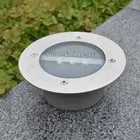 Dhl شحن مجاني 40 قطعة/الوحدة الطاقة الشمسية 3led ضوء دفن مسار ضوء حديقة مصباح الحديقة حديقة الأرض d143