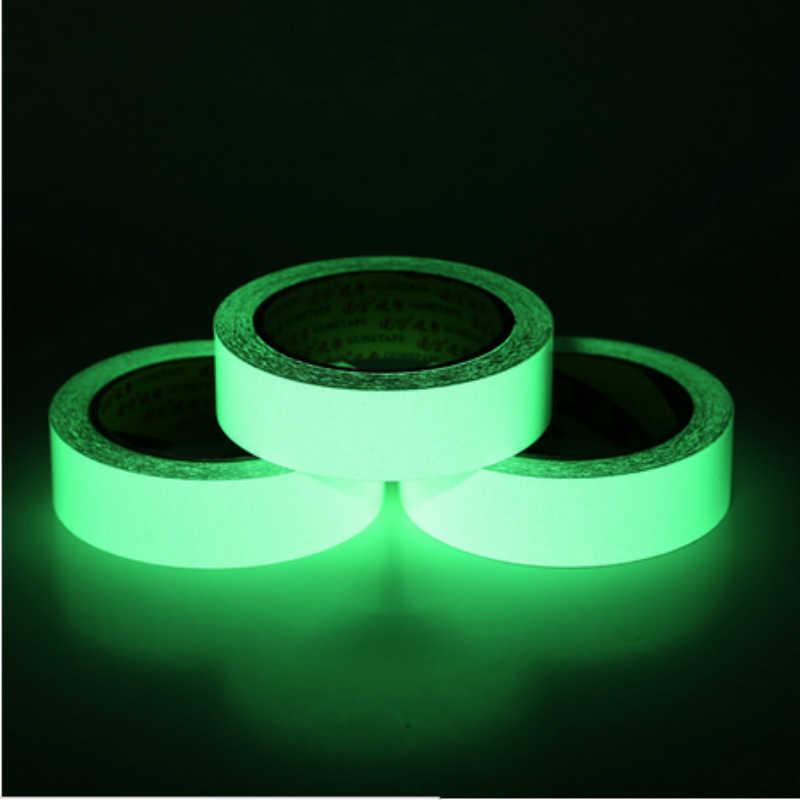 10 м мм светящаяся лента ночного видения в темноте самоклеящаяся флуоресцентная