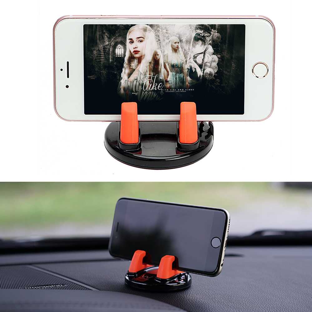 Car Phone Holder for iPhone Samsung HUAWEI 360 Degree Rotation Auto Mount Clip for Sunglasses Ticket Card GPS Stand Holder baseus 360 degree rotation magnetic car mount holder gold