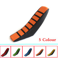 Motorcycle Rubber Striped Soft-Grip Gripper Soft Seat Cover For KTM SX XC EXC XC-W SX-F 85 105 125 150 200 250 300 350 450