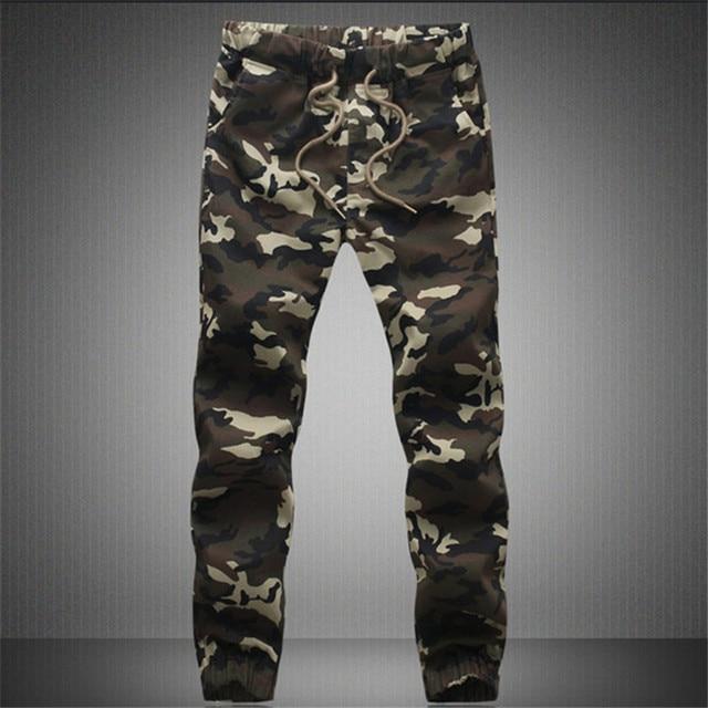 BSETHLRA 2018 New Joggers Pants Men Camouflage Military Pure 100% Cotton Spring Autumn Harem Pant Men Trousers Camo Mens Joggers 3