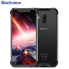 Blackview BV9600 Pro IP68 Waterproof Mobile Phone 6.21″ AMOLED 6G+128GB Helio P60 Octa Core Android 8.1 5580mAh NFC Smartphone
