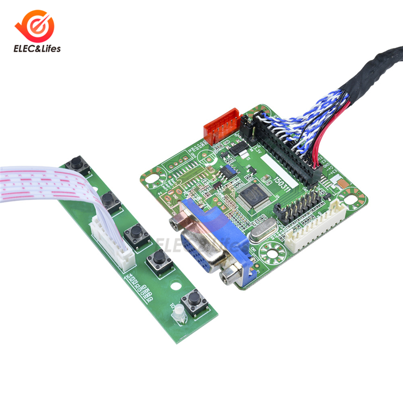 5V MT6820 MT6820-B Universal LVDS LCD Monitor HD Screen Driver Controller Board For 10''- 42'' Inch Laptop PC Computer DIY Kit
