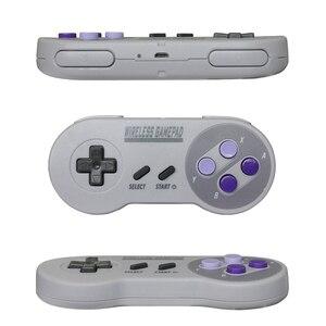 Image 3 - Wireless Gamepads 2.4GHZ Joypad Joystick Controller for SNES Super Nintendo Classic MINI Console remote Accessories