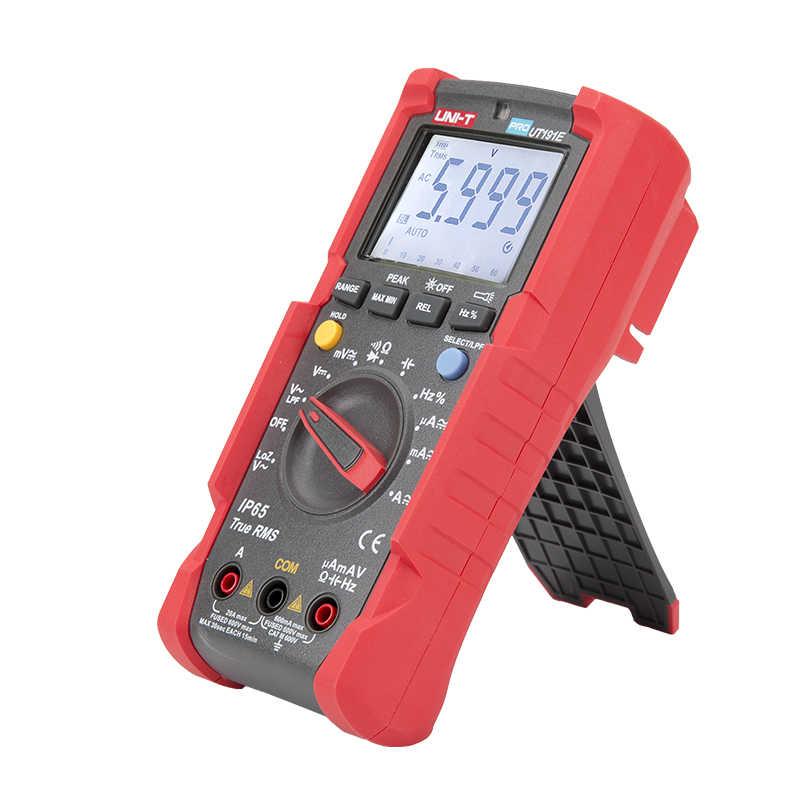 Ut191e/ut191t ce/gs/ctuvus와 전문 true rms 멀티 미터 ip65 방수/방진 디지털 멀티 미터 loz lpf 테스터