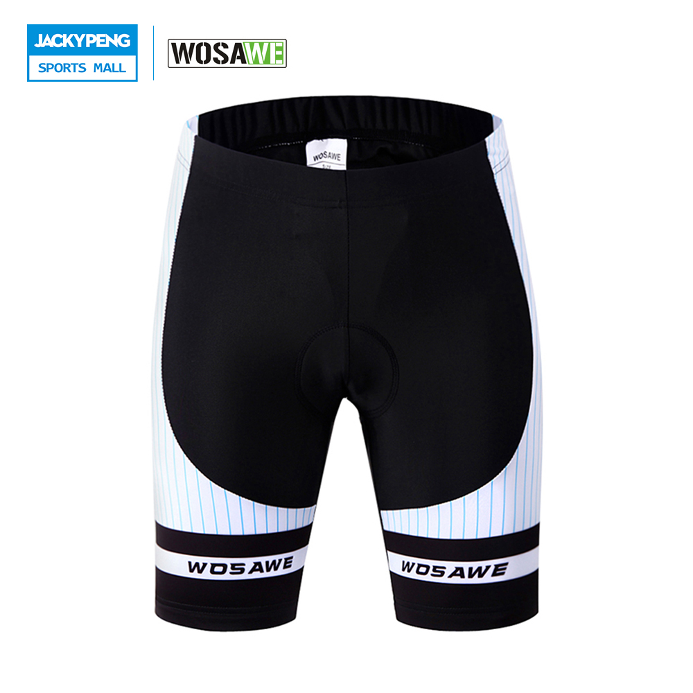 Wosawe originais dos homens dos homens shorts de ciclismo equitação da bicicleta bicicleta ropa clismo bicicleta 3d acolchoado shorts de ciclismo shorts da bicicleta de montanha