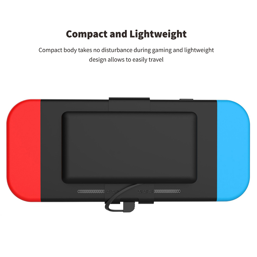 Batterie externe 10000 mAh pour Console de commutation ntint batterie externe pour Nintendo Switch chargeur rapide pour iPhone Android pour iPad - 2