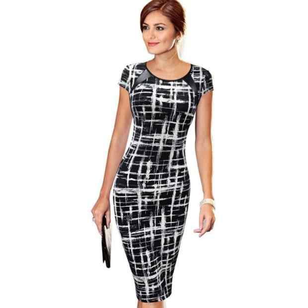 Летнее женское модное облегающее мини-платье-карандаш с коротким рукавом, элегантные женские повседневные весенние Клубные вечерние платья с круглым вырезом, платья для банкета Jan3