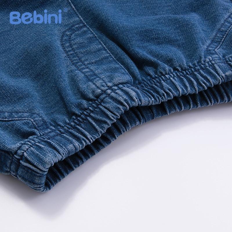 2018 Summer Cotton Baby Boys Clothing Set Infant Boys Girls Denim Pant T Shirt Set Toddler Kids Outwear 0-4Y