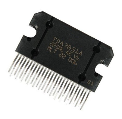 1PCS TDA7851 TDA7851L <font><b>TDA7851A</b></font> TDA7851 ZIP-25 Car amplifier module image