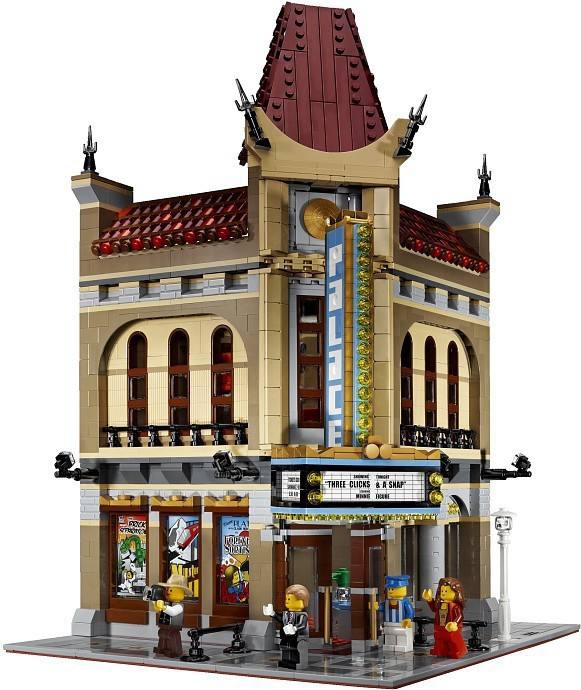016 New LEPIN 15006 2354pcs Palace Cinema Model Building Blocks set Bricks Toys Compatible with lepin