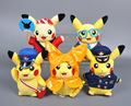 1pcs/set  Plush COS PALY Pikachu Toys Children Plush Fluffy 11Style Size Cute Anime Doll Kids Gift For Birthday 20CM