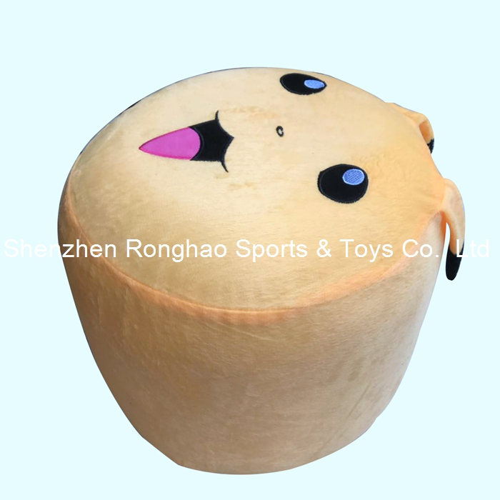 Free Shipping Inflatable Stool Thicken PVC Cotton Cover Cartoon Plush Air Pouf Chair Lovely Pneumatic Stools Portable PikachuFree Shipping Inflatable Stool Thicken PVC Cotton Cover Cartoon Plush Air Pouf Chair Lovely Pneumatic Stools Portable Pikachu