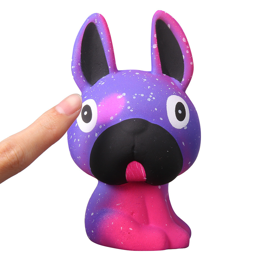 Cute Colour Changing Pug Doggy (Galaxy and Orange) 16