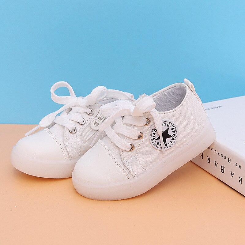 Nieuwe Kinderen Gloeiende Sneakers Mode Kinderen Led Sportschoenen - Kinderschoenen - Foto 5