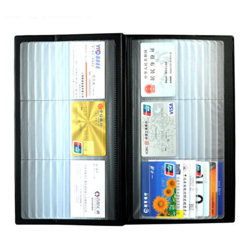 Deli Brand 288 Card Slots faux Leather Name Card Holders & Cases 4A5788 brand new a155 6 48 288