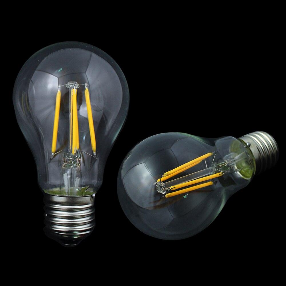 Led Filament Lamp 40w Dimbaar: E27 4W To Replace 40W Incandescent Bulb E27 LED Filament