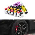Car Racing M12*1.5mm 20PC Wheel Rims Lug Nuts Formula Style with Key Forged Steel for MITSUBISHI