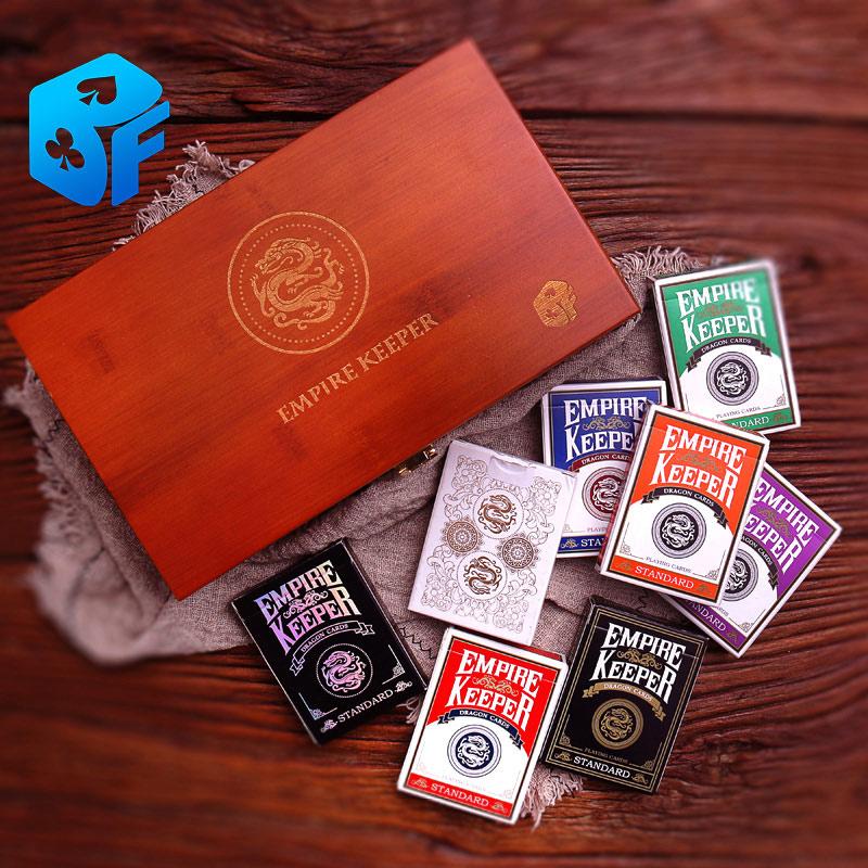 Empire Keeper cartes à jouer tours de magie accessoires de magie (étui et cartes)