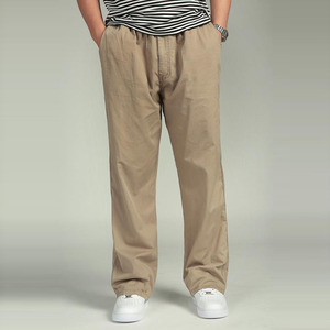 Image 2 - Bawełna mężczyźni joggersy cargo spodnie w pasie spodnie wojskowe moda męska luźne kombinezony na co dzień Plus rozmiar 3XL 4XL 5XL 6XL
