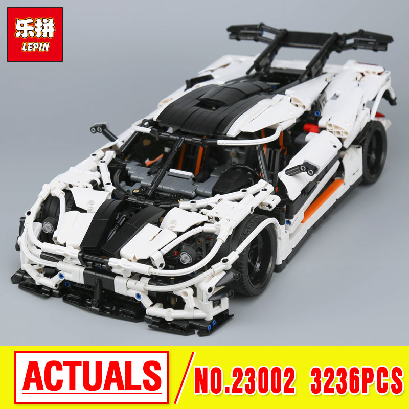 Lepin 23002 3136Pcs Technic Series The MOC-4789 Changing Racing Car Set Children Educational Building Blocks Bricks Toys Model цена