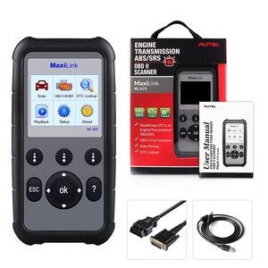 Image 5 - Autel ML629 OBD2 herramienta de diagnóstico de coche, lector de código + ABS/SRS herramienta automática, apagado la luz del motor (MIL) y ABS/SRS