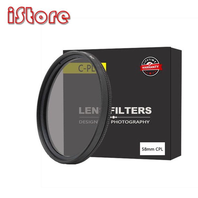 Polarizer filter polariscope glass 40.5mm 49mm 52mm 55mm 58mm 62mm 67mm 72mm 77mm 82mm CPL